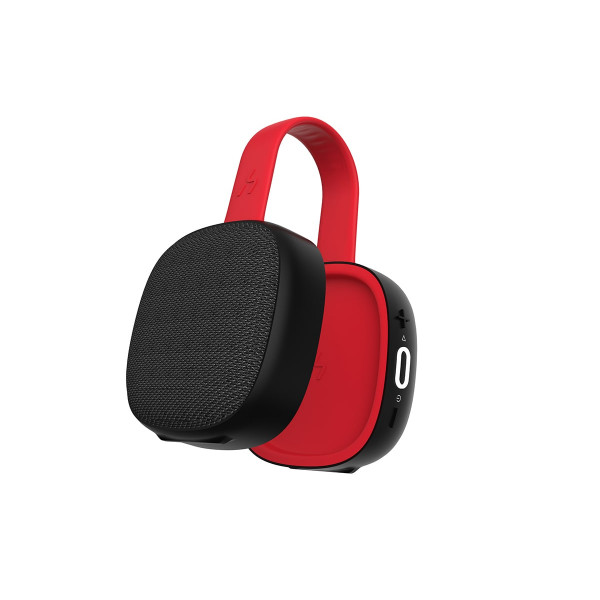 HAVIT E5 Red Portable Bluetooth Speaker with Magnetic Suction